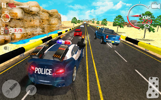 Police Highway Chase in City - Crime Racing Games 1.3.1 screenshots 6