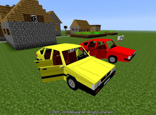 Car Mod for Minecraft Game