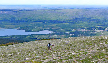 Photo: Beast mode - You can see the campground where we started below.