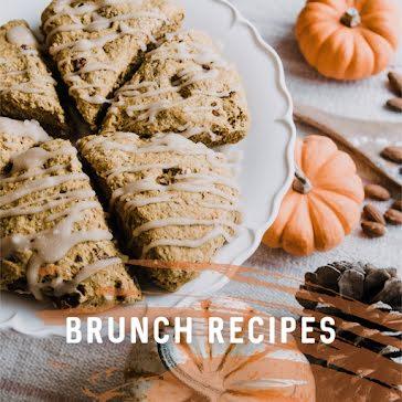 Fall Brunch Recipes - Instagram Post template