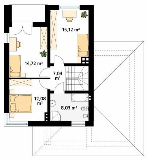 Karmazyn CE - Rzut piętra