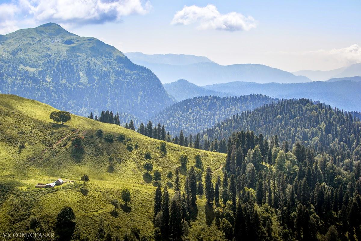 Абхазия, Рица, горы