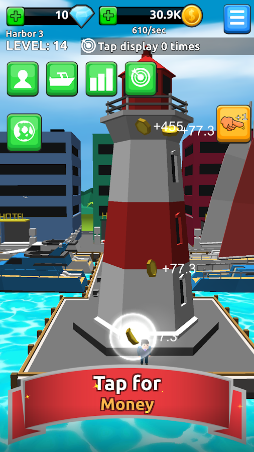 Harbor Tycoon Clicker- screenshot