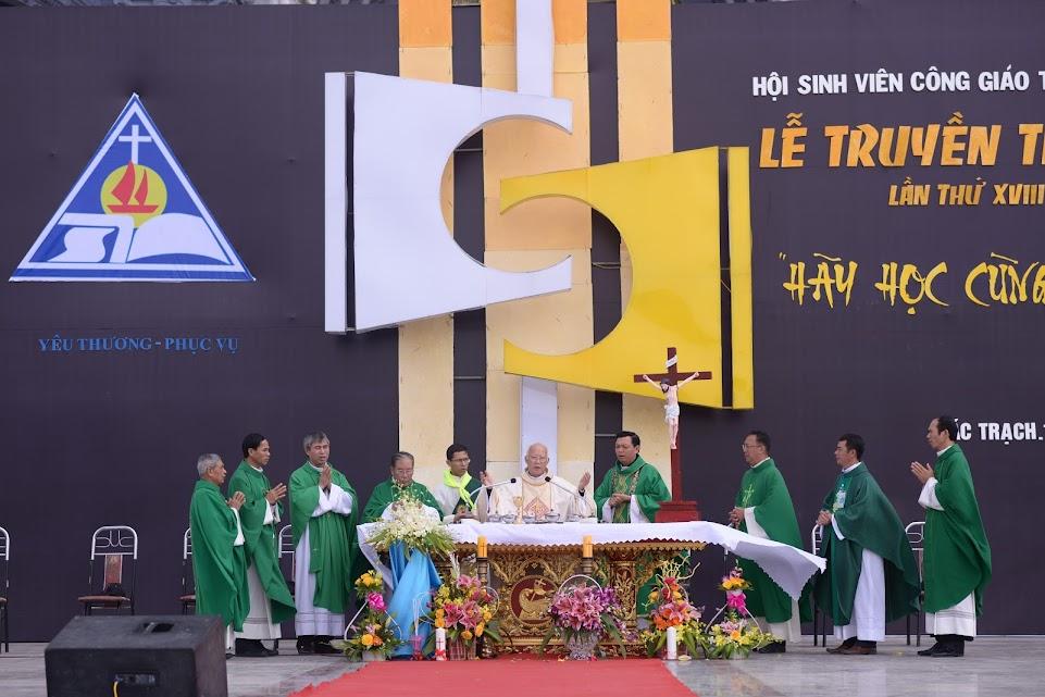 Thánh lễ Tạ ơn tại LTT SVCG TGP Hà Nội lần thứ 18.