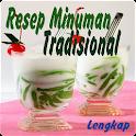 Resep Minuman Tradisional Free icon