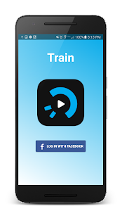 Train: easy video messaging- screenshot thumbnail