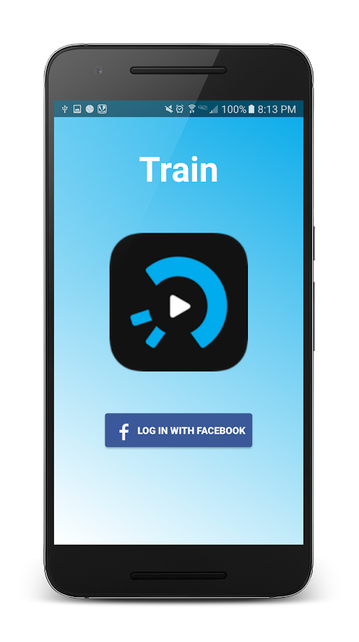 Train: easy video messaging- screenshot