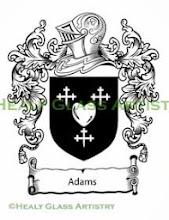 Photo: Adams Family Crest Adams Coat of Arms