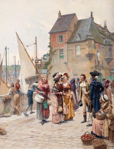 Adrien MOREAU - La rencontre galante au port