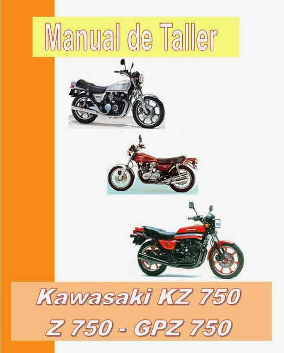 kawasaki kz 750 manual-taller-servicio-despiece