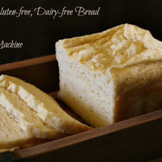 Easy Gluten-free Dairy-free Bread in your Bread Machine.