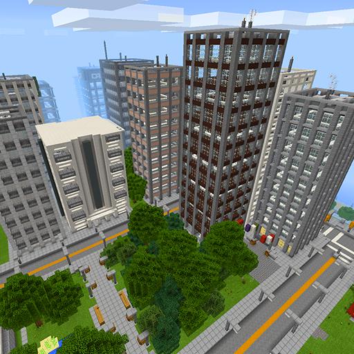 New Blocks Angeles MCPE map