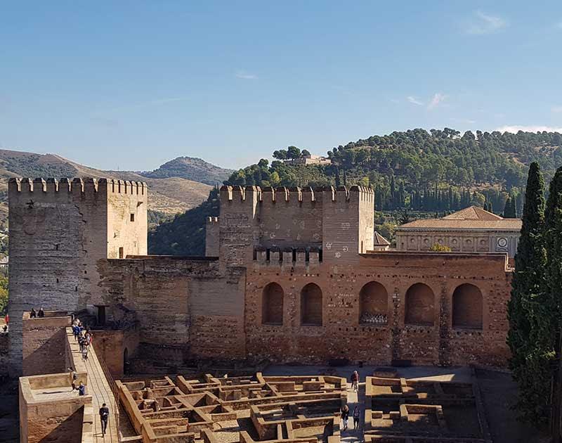 Granada-Alhambra - Bild copyright Mike Lippoldt,
