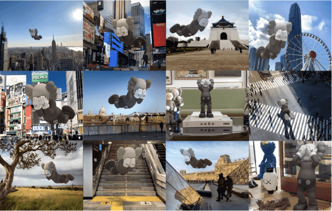 KAWS 推全新虛擬藝術 《EXPANDED HOLIDAY》降臨全球12地
