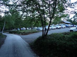 桜平駐車場(中)からスタート