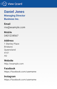 SendQ - Digital Business Cards- screenshot thumbnail