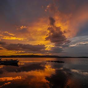 by Enver Karanfil - Landscapes Sunsets & Sunrises ( urla, d80, sigma, sunset, nikon )