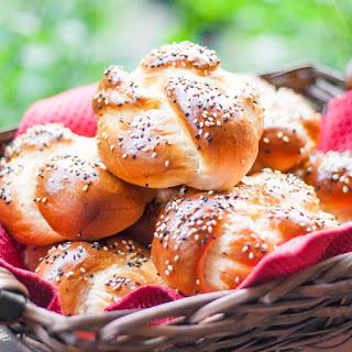 Portuguese Sweet Bread Rolls Recipe