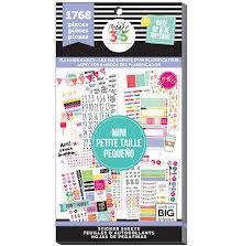 Me & My Big Ideas Happy Planner Sticker Value Pack - MINI Planner Basics