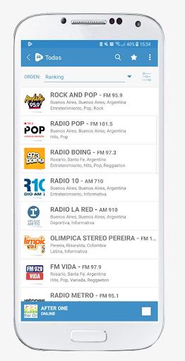 Radios Online FM y AM   Raddios 4.0.2 screenshots 1