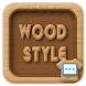 Wood style skin for Next SMS - Androidアプリ