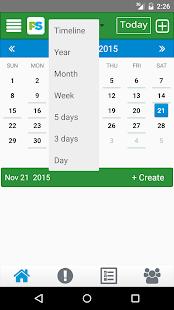 Plan it Sync it - Events screenshot