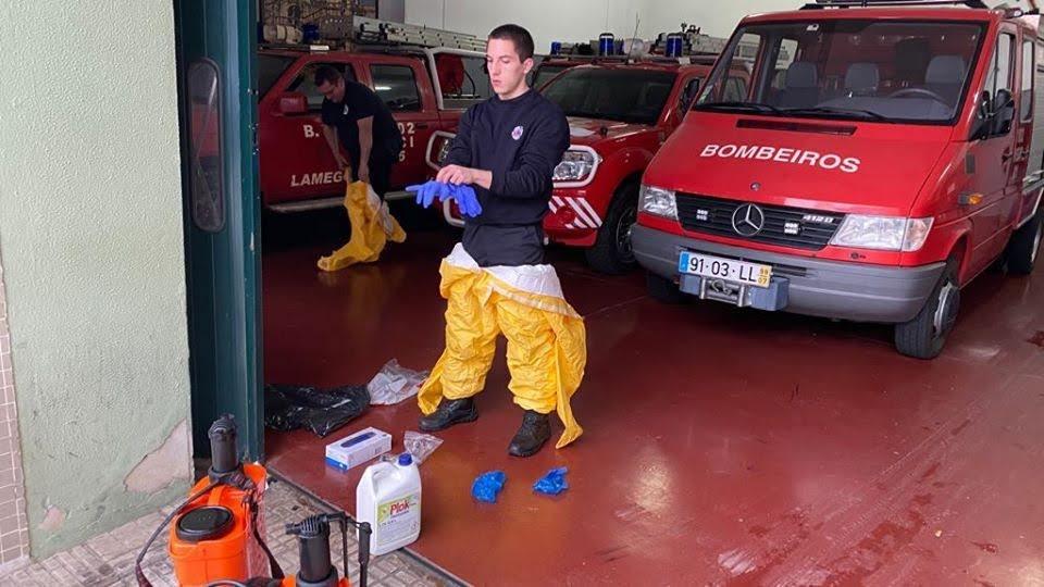 Município de Lamego oferece equipamento de proteção aos bombeiros