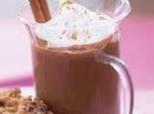 Warm Chocolate Eggnog Recipe