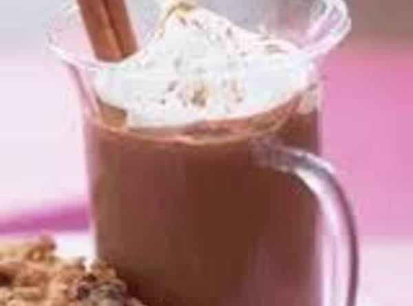Warm Chocolate Eggnog
