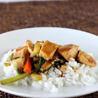 Chinese Chicken Stir Fry.