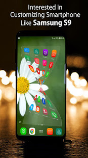 Download Theme for Samsung Galaxy s9 launcher, S9 wallpaper