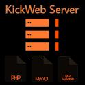 Web Server PHP MyAdmin MySQL icon