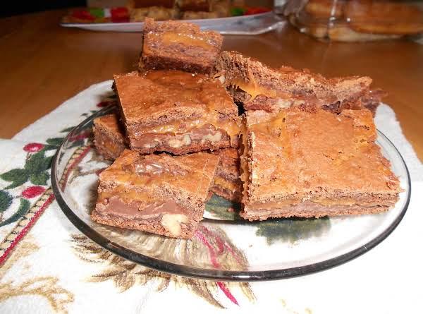 Carmel Chocolate Brownies Recipe