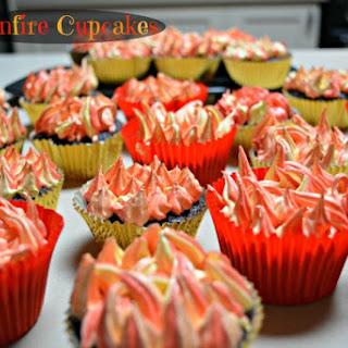 Bonfire Cupcakes.