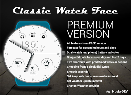 Classic Watch Face ss3