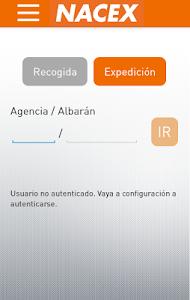 NACEX screenshot 1