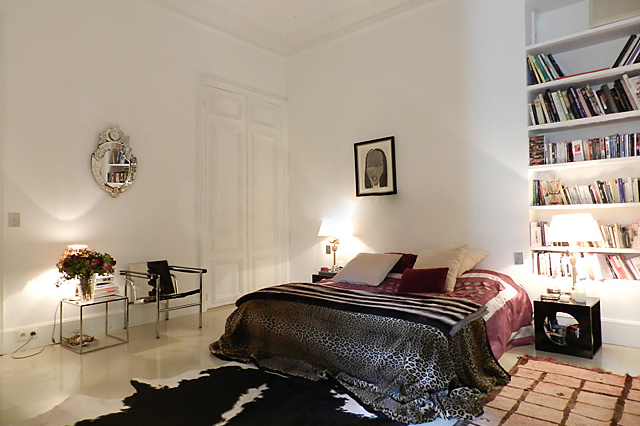 Bedroom at Rue des Ursulines