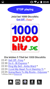 1000 Discohits Player- screenshot thumbnail