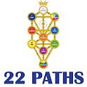 22 Paths on the Tree of Life (Kabbalah and Tarot) icon