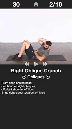 Daily Ab Workout FREE  screenshot 2