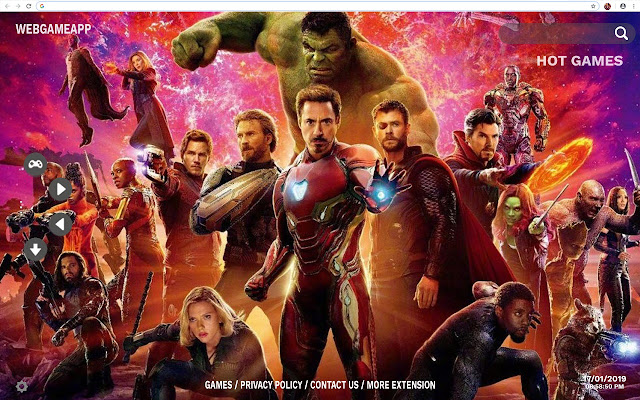 Avengers Infinity War Hd Wallpapers New Tab