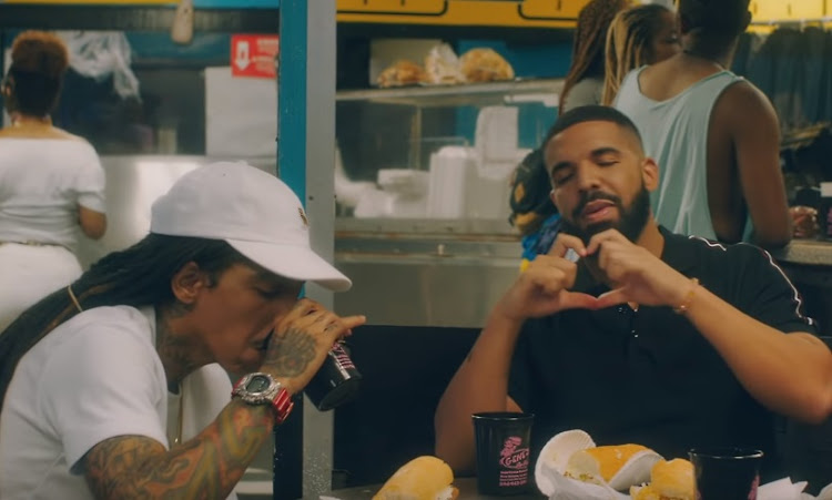 Drake in a scene from his official 'In My Feelings' music video.