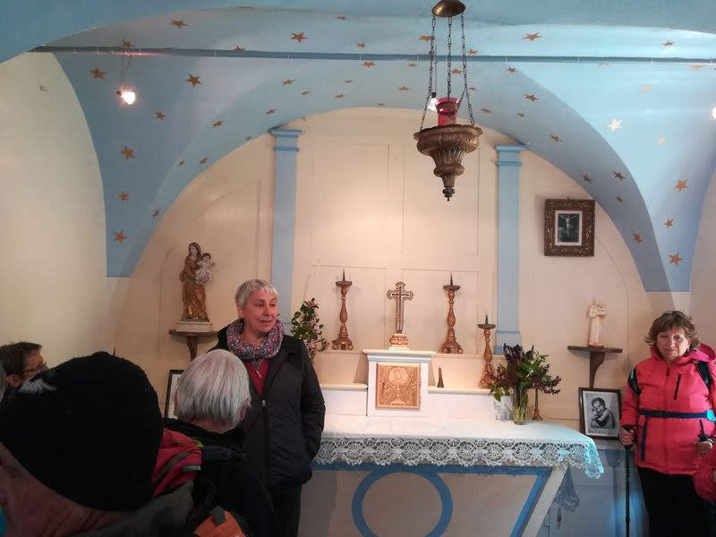 La chapelle de Versenat