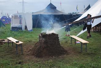 Photo: Zajímavý pokus o kamna s pecí (myslím že se jedná o němce nebo skoty)
