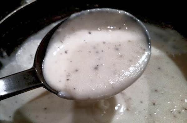 ~ Perfect White Gravy ~ Recipe