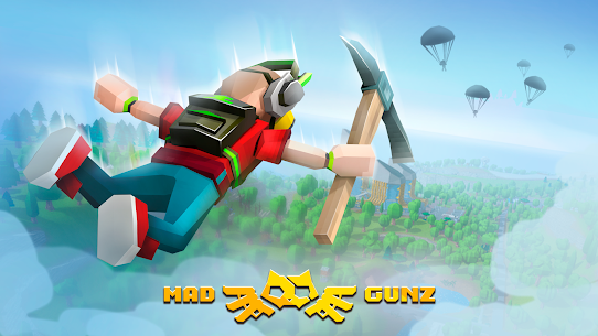 Mad GunZ – shooting games, online, Battle Royale Apk Download For Android and Iphone 7