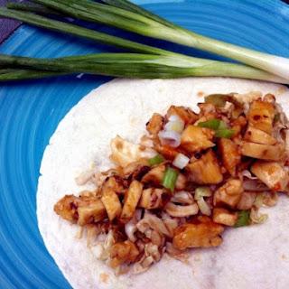 Firecracker Chicken Tacos with Crunchy Asian Slaw
