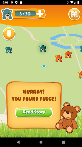 Teddy Hunt - discover teddy bear stories android2mod screenshots 4