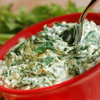 Spinach Vegetable Dip.