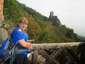 Photo: château de Saint-Ulrich, Girsberg au fond